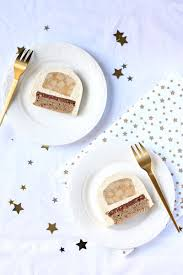 recettes cuisine noel bûche de noël vanille poire et noisette gourmandiseries
