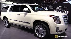 2015 cadillac escalade esv interior 2015 cadillac escalade platinum exterior and interior walkaround