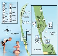 Fl State Parks Map by St Joseph Peninsula State Park Maplets