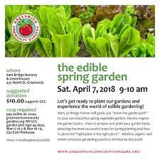 the edible the edible garden class greenwich community gardens