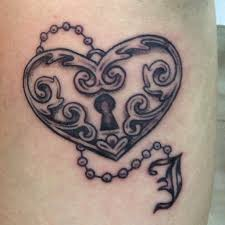 21 best skull tattoo designs heart and key images on pinterest