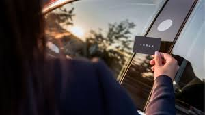 lexus wallet key card tesla releases new model 3 images with keycard and phone app