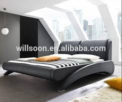 modern bed design bedroom furniture pu leather bed 1871 view