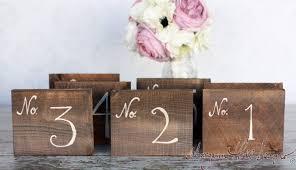 morgann hill designs rustic table numbers barn wedding decor
