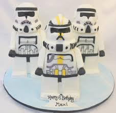 complete deelite star wars lego storm trooper cake