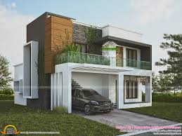 green home contemporary style kerala home design and floor plans