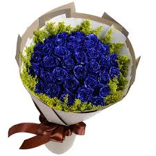 blue roses delivery send 33 blue roses as shown in figure packaging to china 33 blue