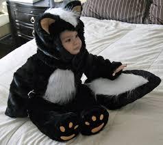 Tom Arma Halloween Costume Homemade Toddler Skunk Costume