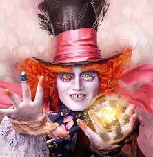 Mad Hatter Halloween Costume Alice Glass Crazy Lenses