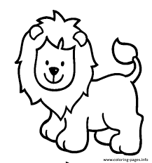 lion girls animals33a4 coloring pages printable