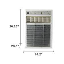 sears air conditioners window kenmore 77223 10 000 btu 115v window mounted mini compact air