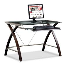 Computer Desk With Adjustable Keyboard Tray Computer Desk With Keyboard Tray Merlot And Chagne