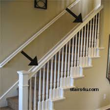 Stair Banister Parts Banister Stairway Handrail Parts