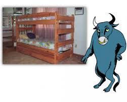 Cartoon Bunk Bed by Paul Bunyan Style Bunk Bed Custom Bunk Beds