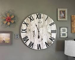 wall clock etsy