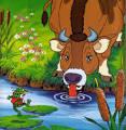 นิทานอีสป The Frog and the ox (กบกับวัว) - เรียนภาษาอังกฤษฟรีออนไลน์