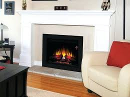 Wall Electric Fireplace Amantii 51 Electric Fireplace With Concrete Surrounds Flush Mount
