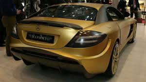 mansory mclaren mansory renovatio based on mercedes benz mclaren slr