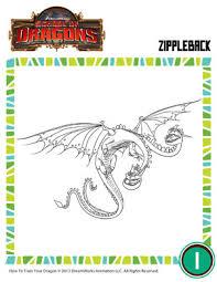 zippleback 3 dragon coloring pages dragons
