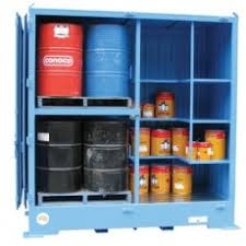 Outdoor Chemical Storage Cabinets Relocatable Outdoor Bulk Dangerous Goods Stores Archives Spill Ready