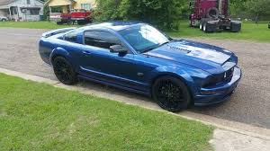 mustang 2006 for sale 5th blue 2006 ford mustang gt automatic for sale mustangcarplace