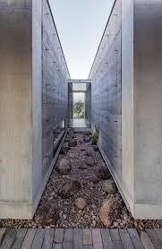 back to basics 7 homes built with rammed earth architizer