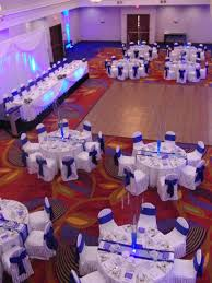 wedding backdrop ottawa our wedding reception ottawa marriott hotel cobalt blue and