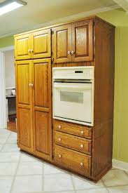 Kitchen Microwave Pantry Storage Cabinet Shifting Cabinets And Appliances For A New Kitchen Layout