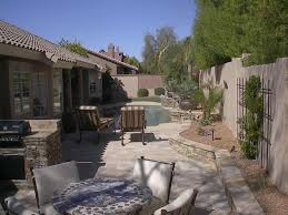 Arizona Backyard Landscaping by Arizona Backyard Ideas With Pool Backyard Fence Ideas
