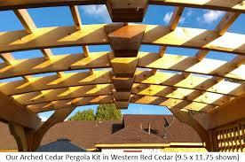 Roof Trellis Pergola Kits Usa Com