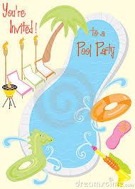 pool party invitation sample ifc radio