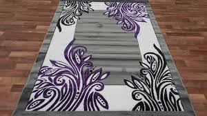 Black And Purple Area Rugs Gray And Purple Area Rug Decoration Allthingschula Purple