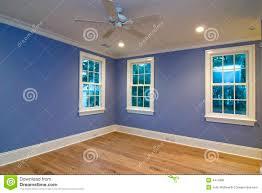 blaues schlafzimmer leeres blaues schlafzimmer stockfoto bild 4414980