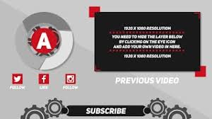 new free 2d outro template after effects 2d outro free