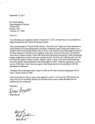 resignation letter resignation letter to pursue other