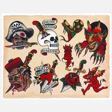 vintage pin up tattoo flash pictures to pin on pinterest tattooskid