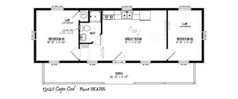 16x40 cabin floor plans 16 u0027x40 u0027 cabin floor plans pinterest