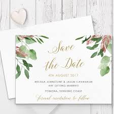 wedding invitations gold coast gold and marsala bohemian luxe wedding save the date cards printed