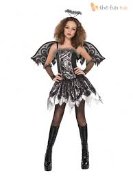 halloween angel wings age 12 16 teen fallen angel costume wings tights girls