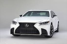sporty lexus 4 door this is the 2018 lexus ls 500 f sport the drive