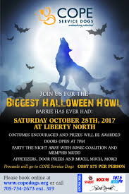 halloween howl in support of cope service dogs 107 5 kool fm