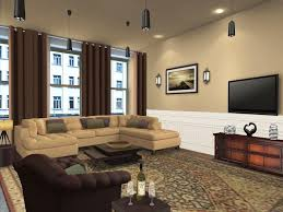 Furnishing Small Spaces Impressive Apartment Living Room Paint Ideas With Modern Living