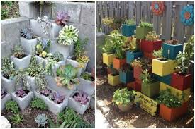 cinder block planter ideas for your garden the whoot