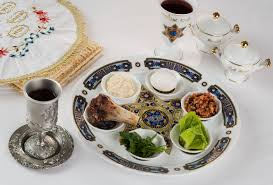 seder meal plate traditional passover foods for the seder meal