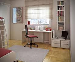 Feng Shui Tips For Office Desk by Feng Shui Office Desk Facing Wall With Wall Shelf And Curtains For