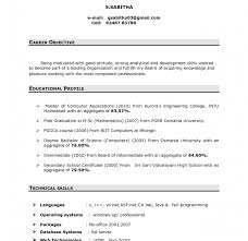 In Resume Career Objective Profile Or Objective On Resume 165 Good Whats A Good Objective