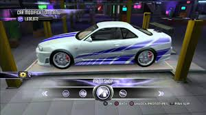 nissan skyline drawing 2 fast 2 furious nissan skyline fast and furious 6 image 187
