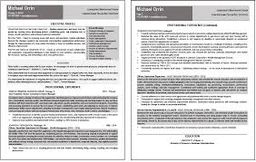 executive resumes samples job search strategies executive resume services part 2 ceo resume sample 1 page 1