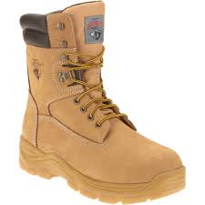 Firefighter Three Boots by Brahma Men U0027s Raid Steel Toe Work Boot Walmart Com