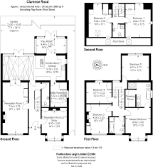 Clarence House Floor Plan 6 Bedroom House For Sale In Clarence Road Teddington Tw11